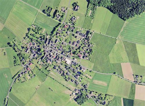 Ortsplan der Gemeinde Hilgenroth