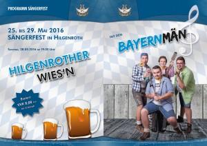 Samstag-Veranstaltung Bayernmän