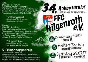 FFC Hobbyturnier 2017