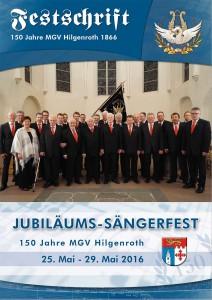 Festzeitschrift - 150 Jahre MGV Hilgenroth 1866