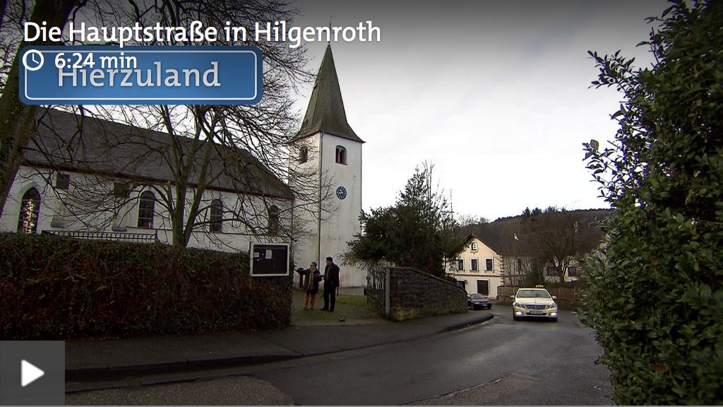 SWR Hierzuland - Die Hauptstraße in Hilgenroth