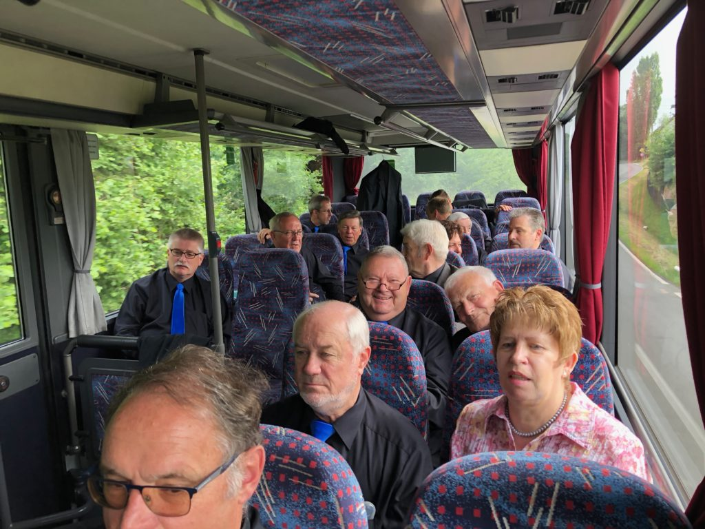 Busfahrt zum Leistungssingen 2018 nach Wirges