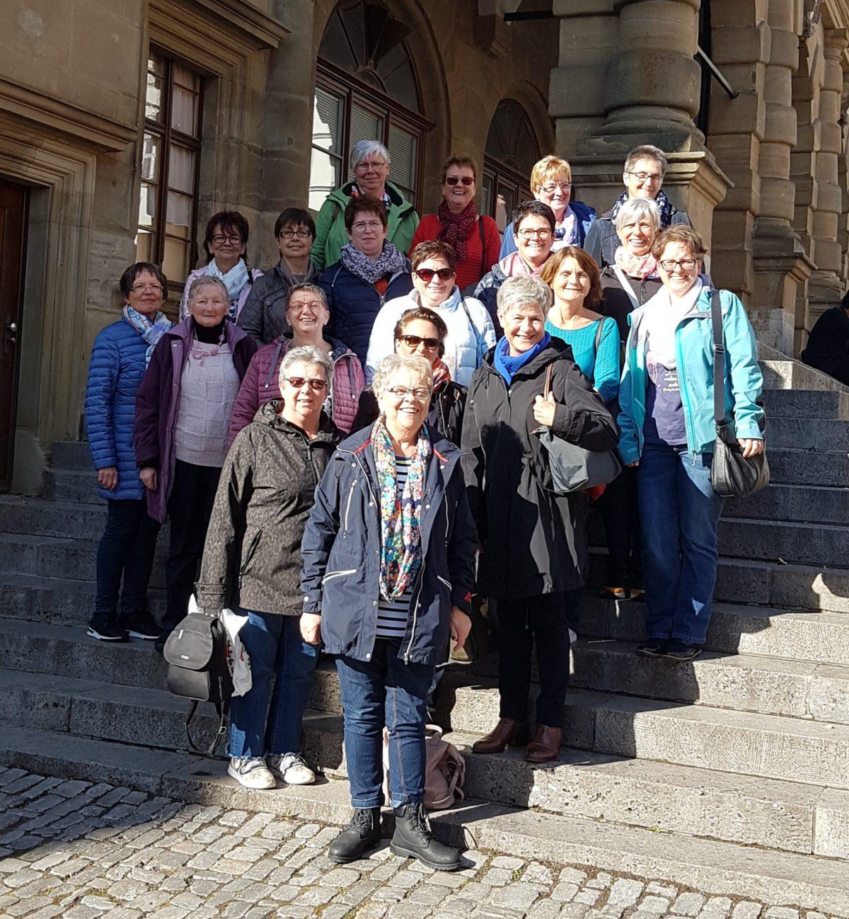 Ausflug Frauenchor Hilgenroth Nürnberg